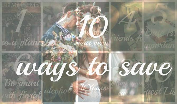 10 WAYS TO SAVE