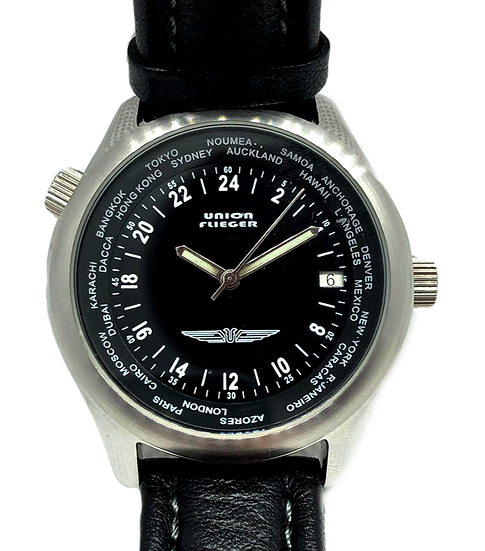 Union Flieger World Timer