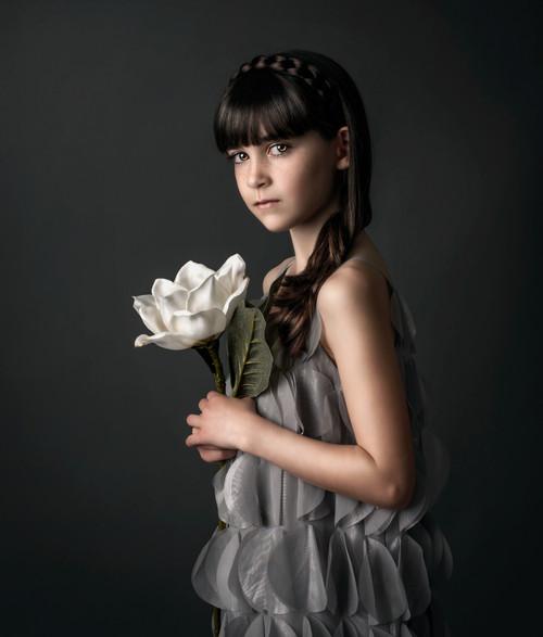 White Flower Photoshoot