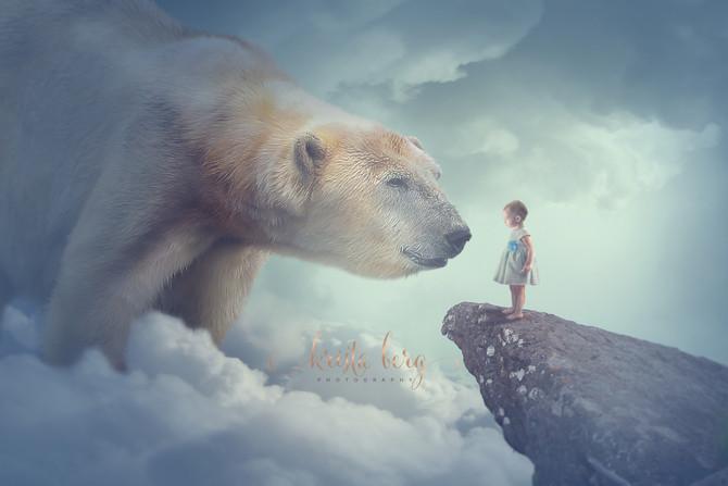 Polar Bear and Girl