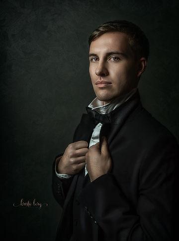 Huntsville Fine Art Portrait of a Young Man