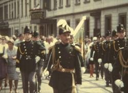 Trachtenfest 1969 Trachtenumzug