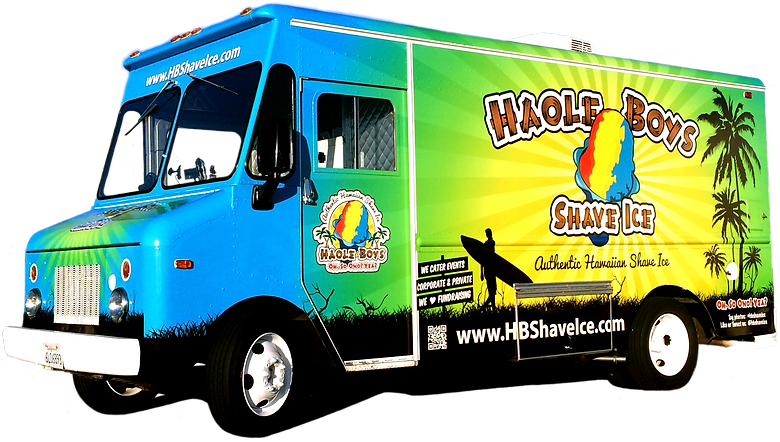 Shave Ice Food Truck Orange County, CA