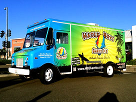 Haole Boys Shave Ice Food Truck
