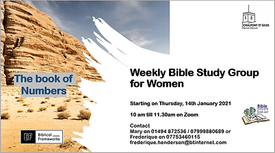 Thursday bible study for women invitatio