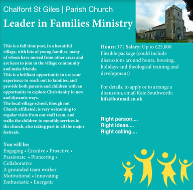 Families Ministry ad.png