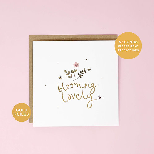 Blooming Lovely Seconds Sale Greeting Card by Abbie Imagine