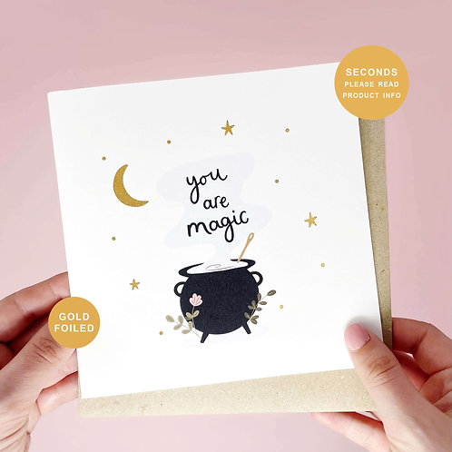 You Are Magic Seconds Sale Greeting Card by Abbie Imagine