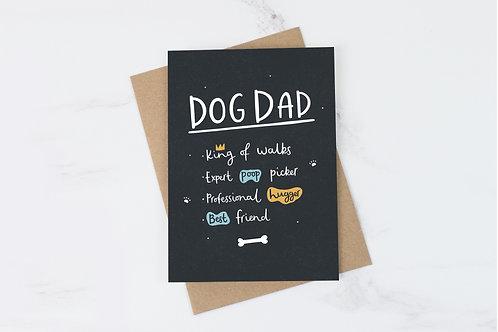 Dog Dad Card