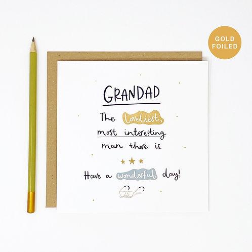 Loveliest Grandad Card