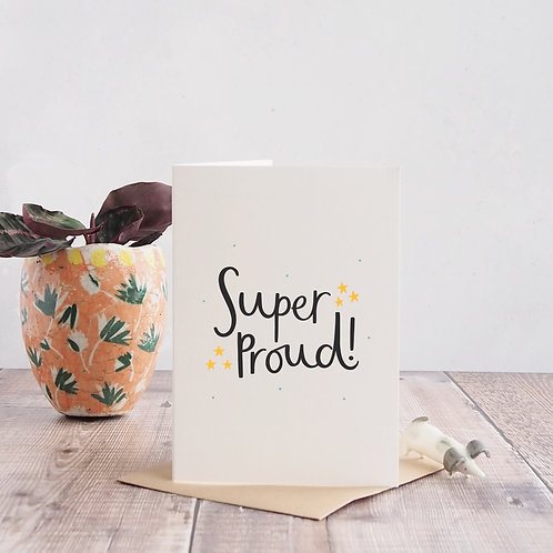 Super Proud Congratulations Card