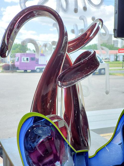 Red Sculpture Set