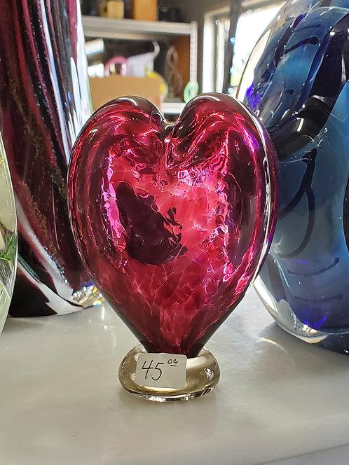 Small Heart Desk Ornament