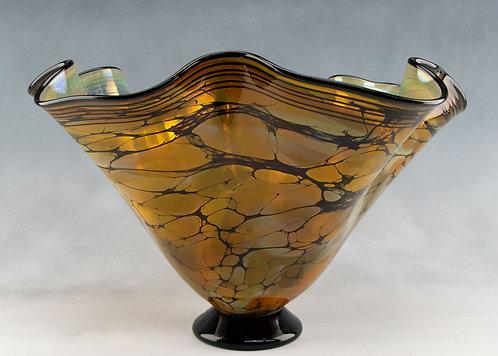 Large Terra Fluted Bowl