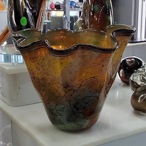 Terra fluted Vase