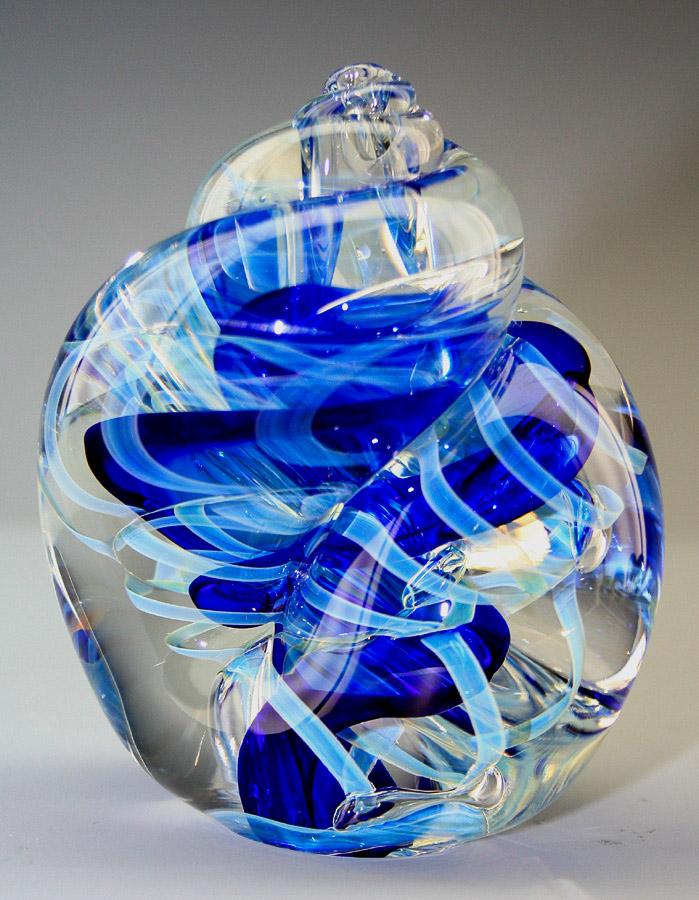 Blue Seashell