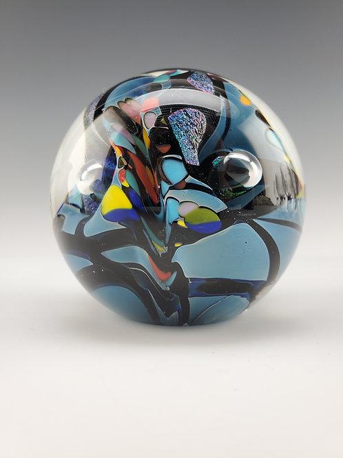 "3"" Silverblue Sphere"
