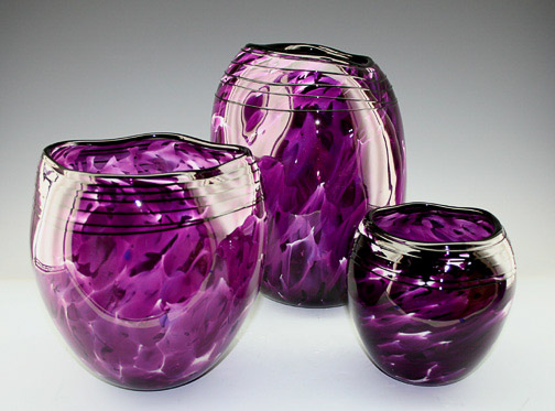 Purple Bowl Set