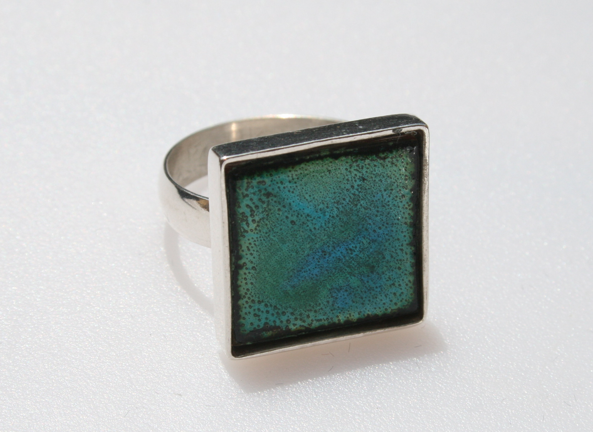 Enamelled Ring