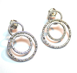 Tripple Circle Earrings.
