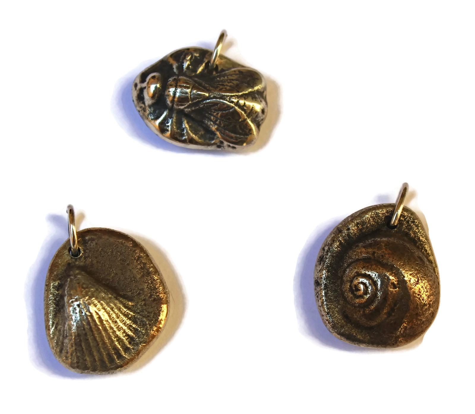 Fossil pendants