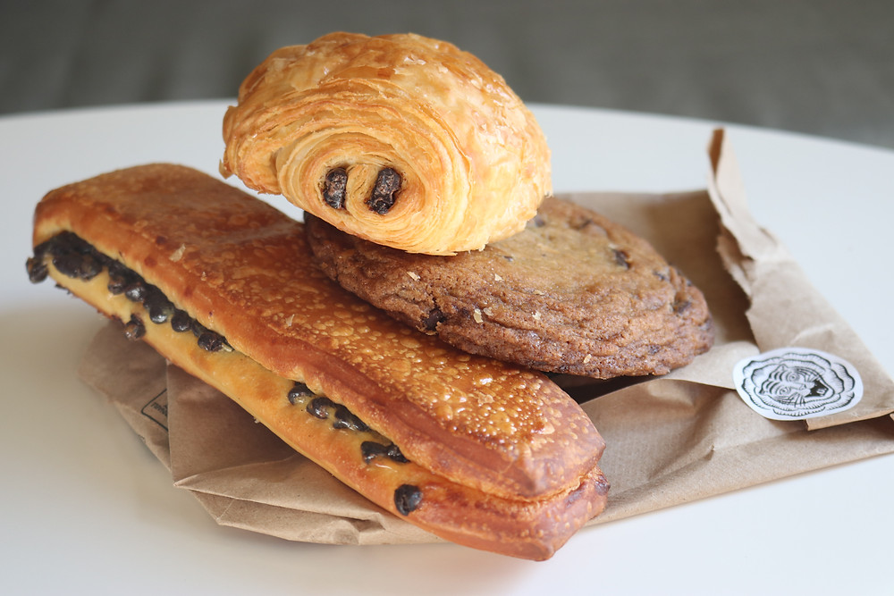 Various pastries from Easy Tiger Bake Shop