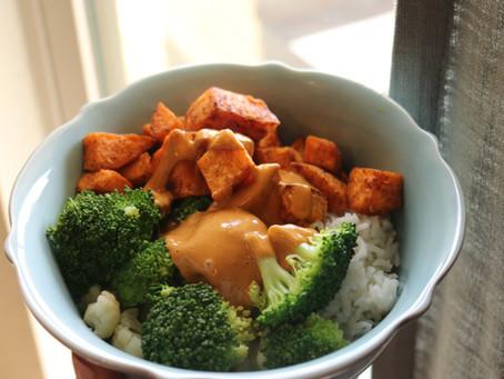 Thai Sweet Potato Buddha Bowl