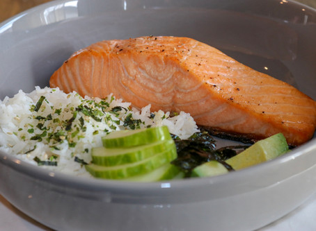Sushi Salmon Bowl