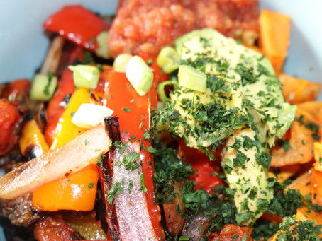 Quick and EasyFajita Veggie Bowls