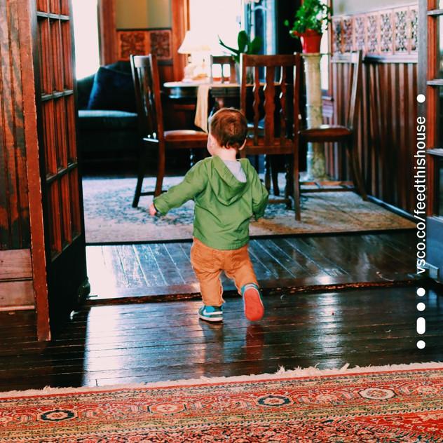 Max exploring the Inn