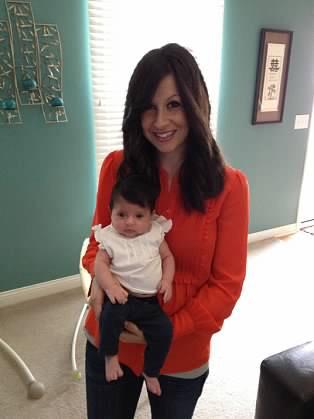 Olivia 3 months old