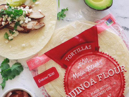 the BEST chicken tacos