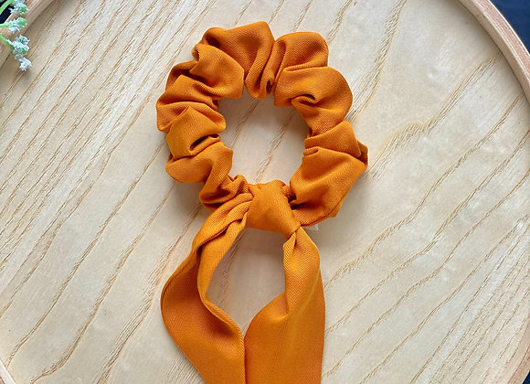 Orange Scrunchie