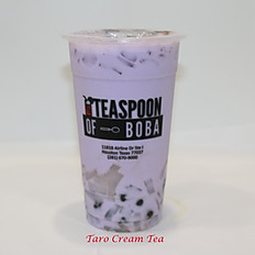 Taro Cream Tea (24oz)