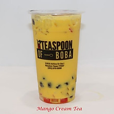 Mango Cream Tea (24oz)