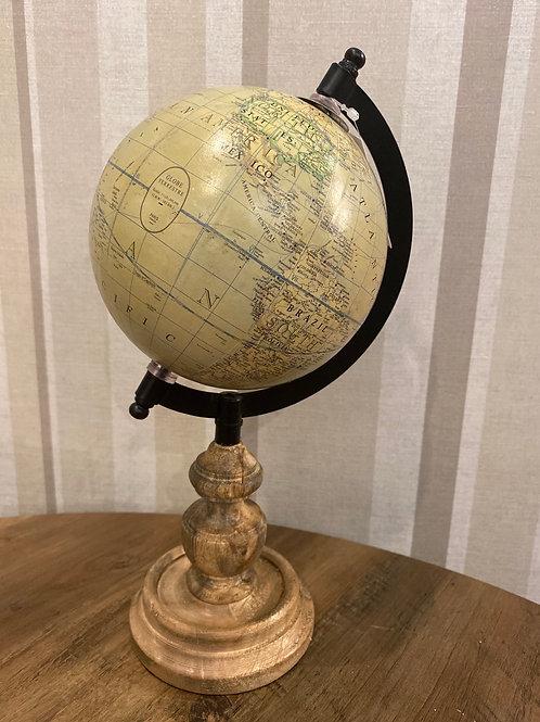 Globe on stand