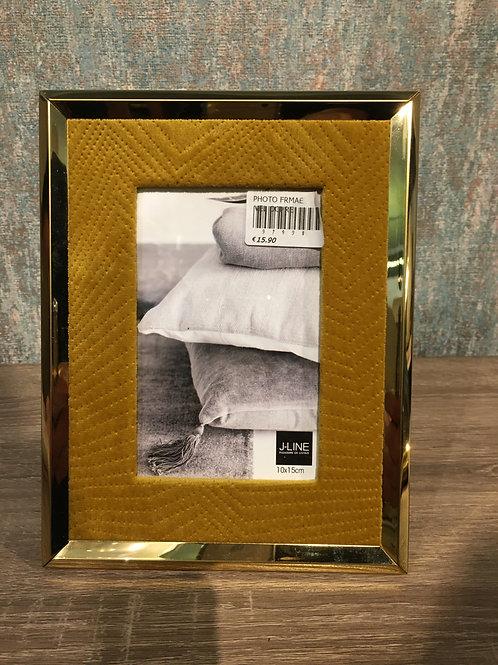Mustard photo frame