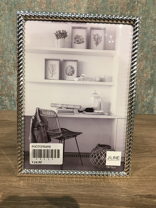 Silver Nickle Photo Frame