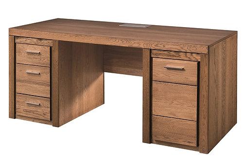 Velvet 1 door, 3 drawer desk