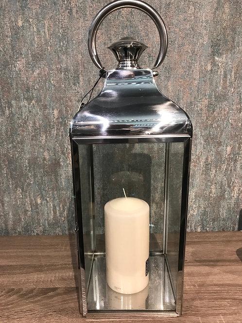 Chrome lantern Sml