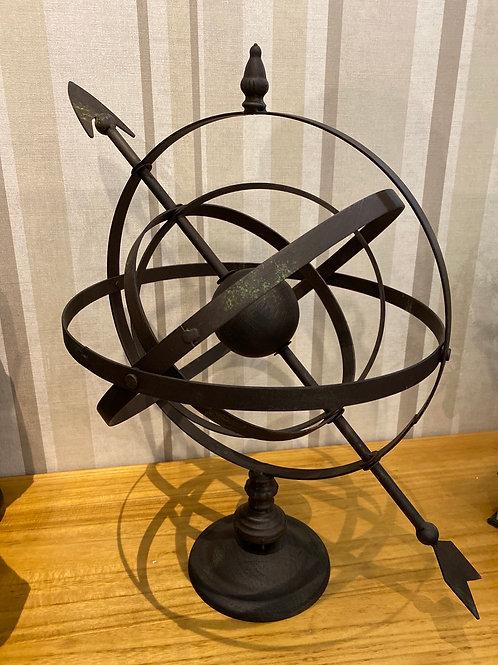 Metal Armilary Sphere
