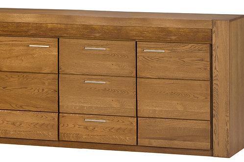 Velvet 2 door, 3 drawer sideboard