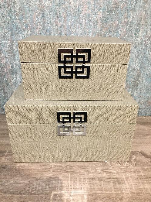 Taupe box Sml