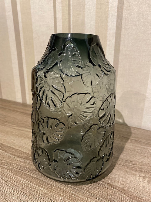 Jungle glass vase