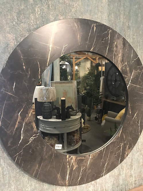 Faux Marble Mirror