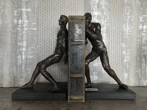 Athletes bookend