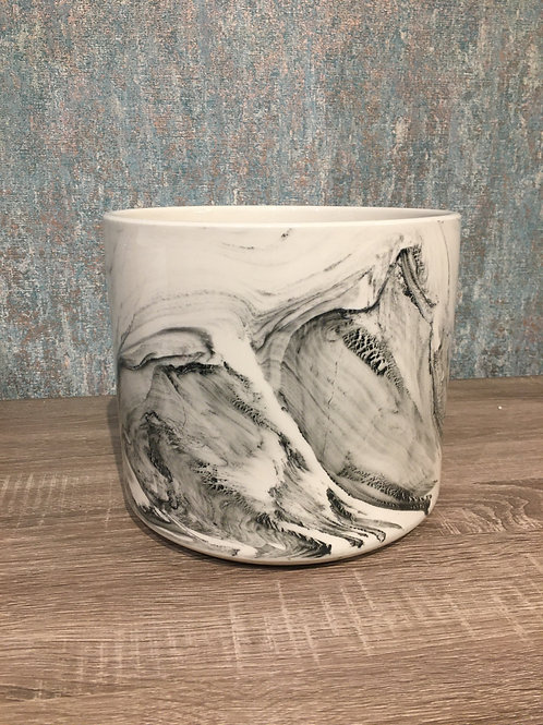 Marble eff pot
