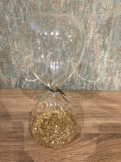 Gold hour glass