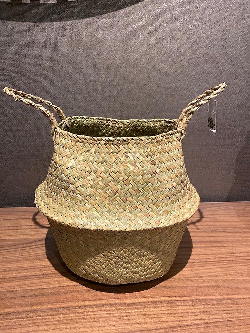 Natural grass basket small