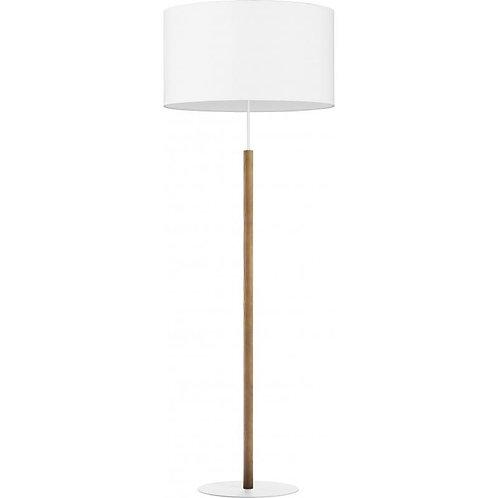 Deva white floor lamp